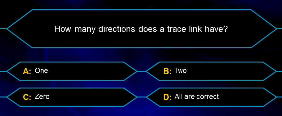 About bidirectional traceability, link semantics and a toggle button - Preview image
