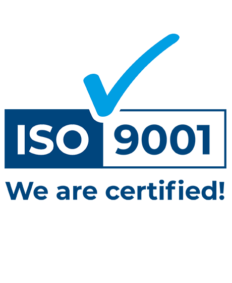 ISO 9001 - We are certified!