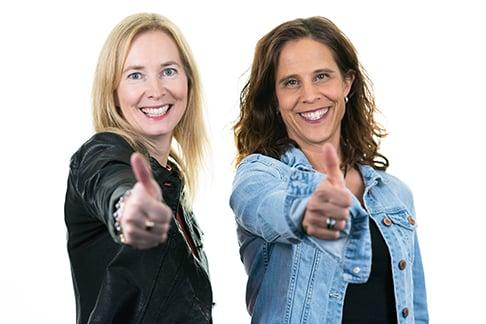 Sandra und Mirja