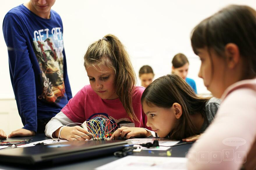 Inspiring young girls in technology: The Skool Story - Preview image