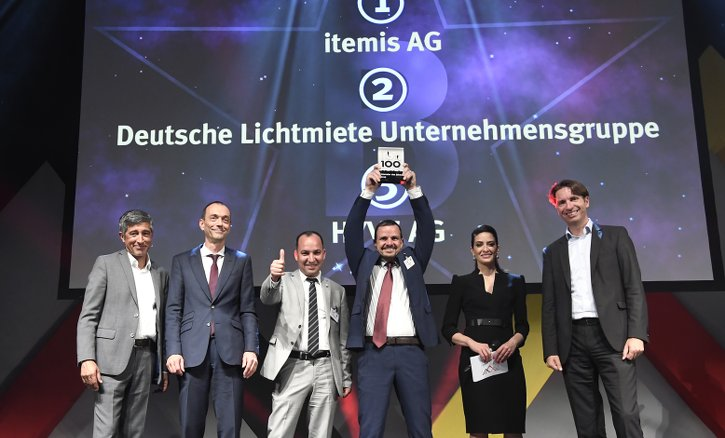 "itemis ist ""Innovator des Jahres"" bei TOP 100 - Preview image"