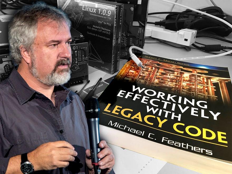 itemis und Michael Feathers geben gemeinsame Workshops