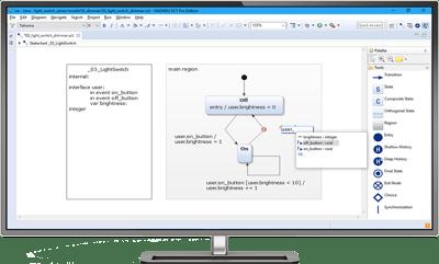 itemis-yakindu-statechart-tools-editing