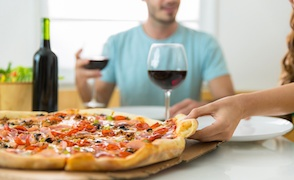 Pizza, usability and a little slice of romance