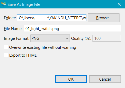 "The ""Save As Image File"" dialog"